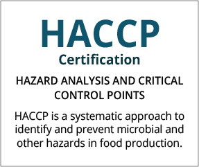 HACCP Certification Thailand